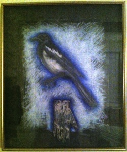 Magpie by Diane Stiglich (collection of the author).
