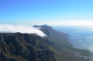 Table Mountain, Cape Town, South Africa. Photo by the author.